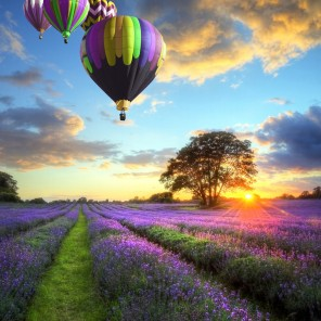 It's only a balloon ride away............. where would you go?