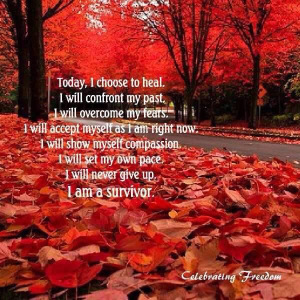 alfgarnet ppoetry today I choose to heal i will confront my past