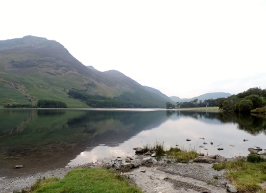 Feel the stillness and breathe long and deep