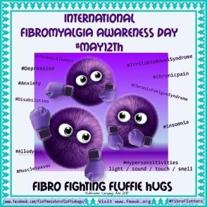 Fibro Fighting Fluffie Hugs