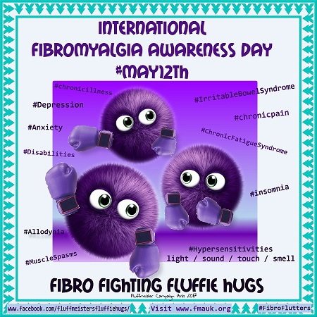 Fibro awareness May 12th 2017 fibro fighting fluffs PHOTOTASTIC