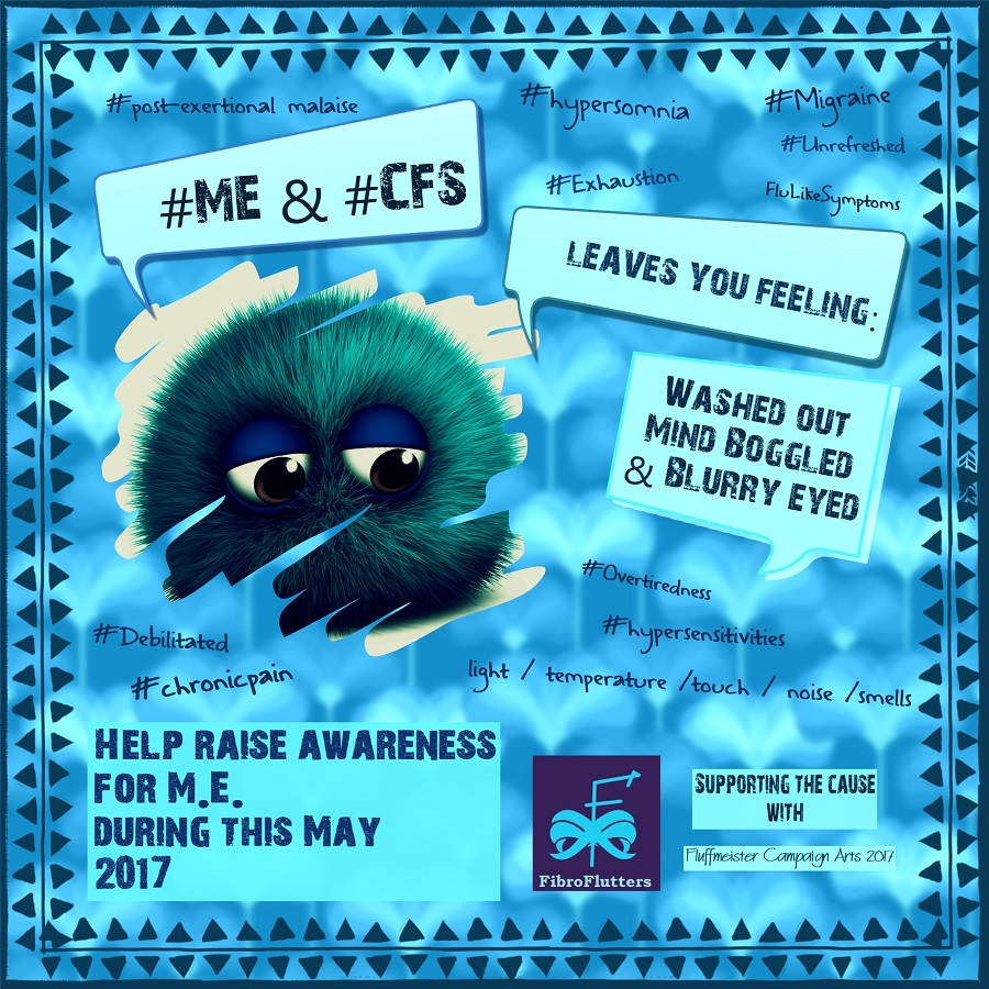 ME CFS AWARENESS MAY 2017