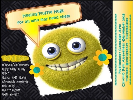 Fluffie hugs YELLOW SMILEY