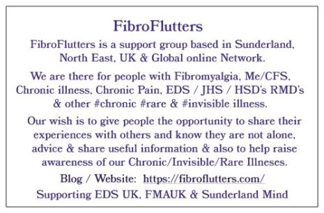 FIBROFLUTTERS GROUP business card BACK