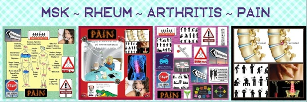 MSK ~ Rheum ~ Arthritis ~ Pain