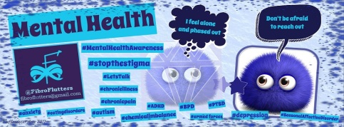 fibroflutters mental heal discussion group cover pic