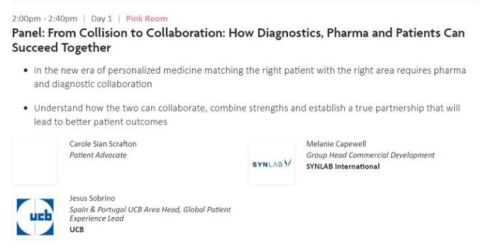 Panel discussion eyeforpharma Barcelona March 2019